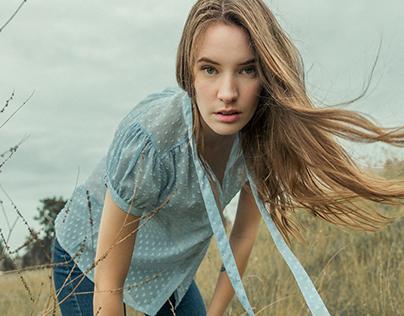 Fashion Editorial with Sofia Maria