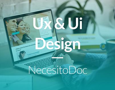 Ux / Ui project - NecesitoDOC