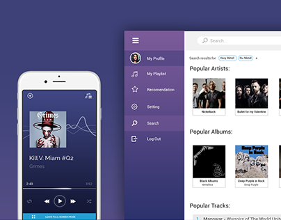 WebApp PlayMix Music Player