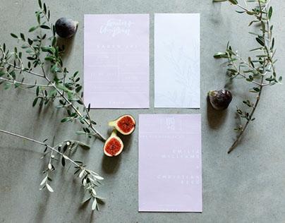 Wedding Stationery: Jennifer März Photography