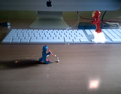 Lego Avengers - Cap. America vs Ironman