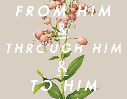 Romans 11:36 Poster