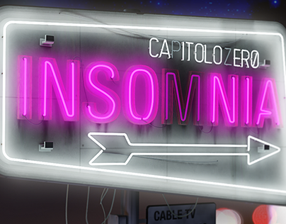 Insomnia - 3D Illustration
