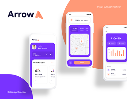Arrow - Renting Mobile Application