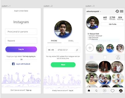 Instagram Demo