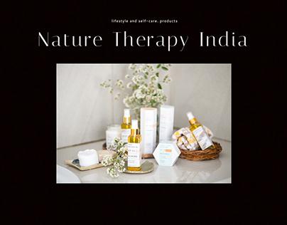 UI/UX Design - Nature Therapy