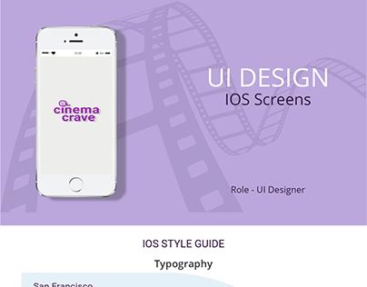 App IOS Screen