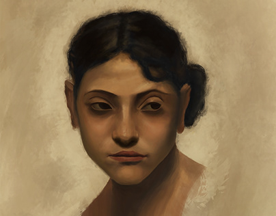 Capri Girl Portrait