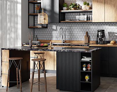 CGI - kitchen