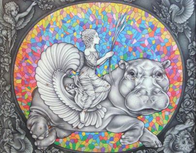 Fantastic & Literary Art - Drawings 2008 - 2010.