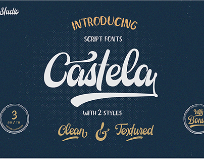 Castela Script Font ( FREE Demo Version)