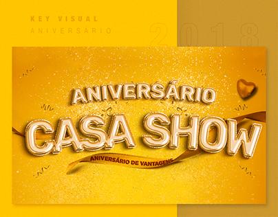Casa Show: Mês de Aniversário