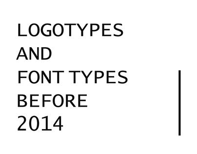 Logo&Font Works before 2014