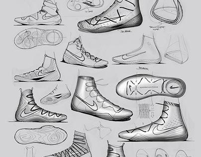 Nike Hyperstrike (Boxing Shoe)