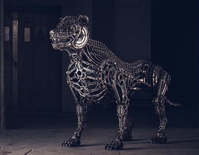 Biomechanic dog NO.:5 (2018)