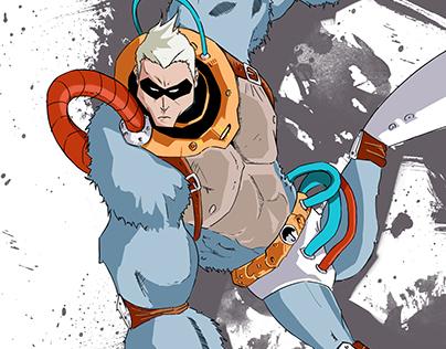 Gorillaboy Illustration