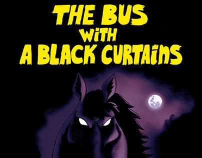 The Bus with a Black Curtains - Fisrt Story