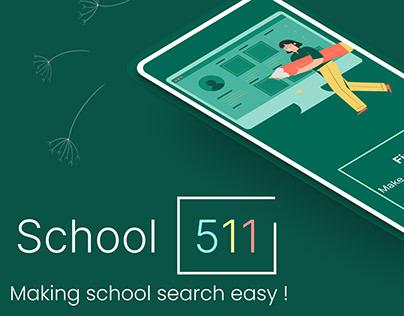 School511 | Making school search easy !