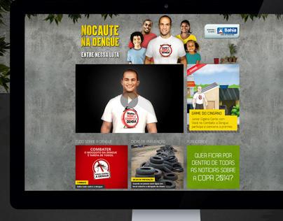 Nocaute na Dengue - Desafio do Cigano - Hotsite