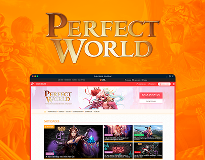 Perfect World - Novo site oficial