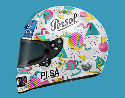 F1 2020 X 1996 - Helmet Rewind