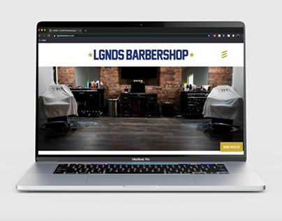 LGNDS Barbershop Website
