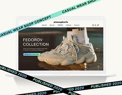 E-Commerce Website street wear