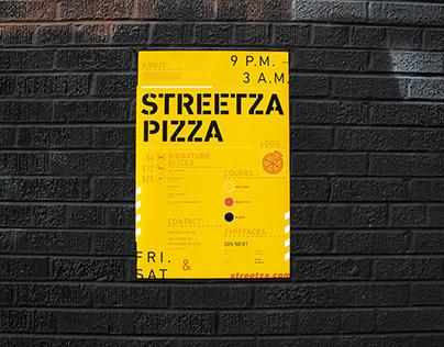 Streetza Pizza Rebrand