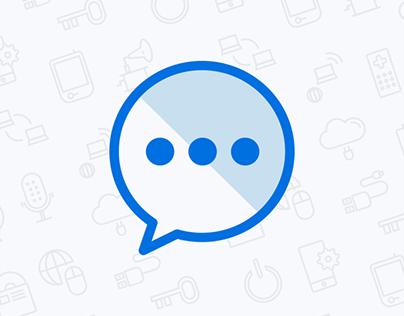 PopSenger - a free, designed messenger widget