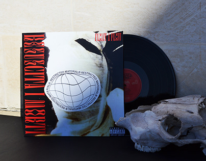 "Cover and Packaging LP/CD for ""Resuscita i Morti"""