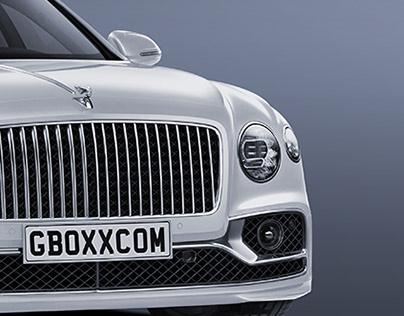 2020 Bentley Flying Spur Limousine Black 2 White