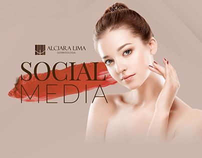 Social Media - Alciara Lima Dermatologia