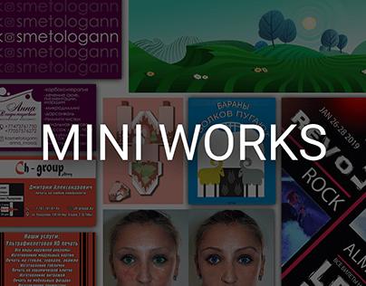 MINI WORKS   Graphic design   Branding