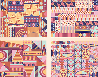 Geometric pattern elements