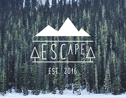 Escape - Identity, Branding, and Editorial Design