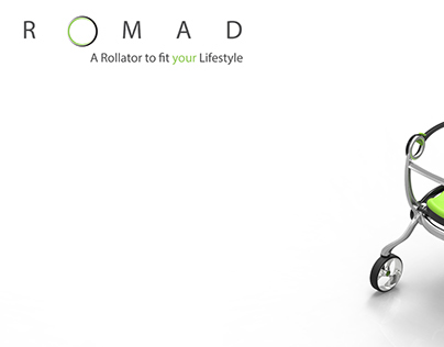 ROMAD: A Rollator to fit your Lifestyle
