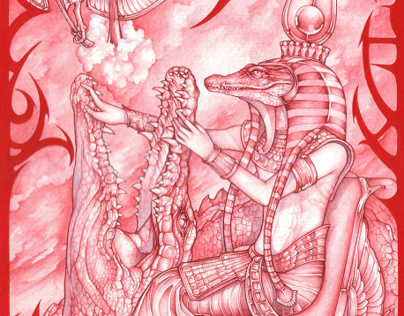 Surreal Menu - Watercolor series 2007.