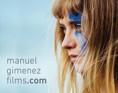 Manuel Gimenez Films - Website design