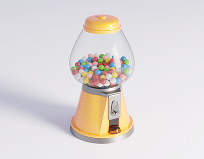 Bubble Gum Dispenser
