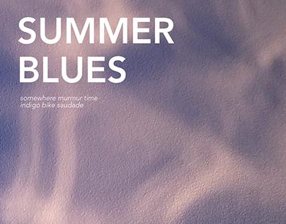'SUMMER BLUES' - experimental book