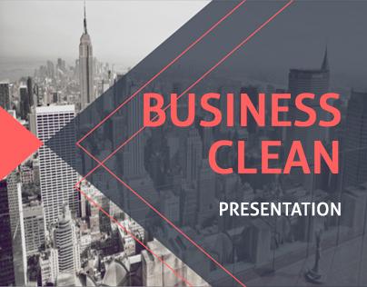 Business clean Presentation