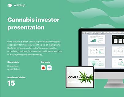 Cannabis Investor Presentation