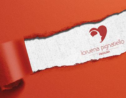 Presentation logo Loruena Pignatiello psychologist