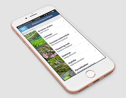 Invasive Species Crowdsourcing App