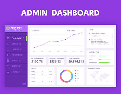 Sales Dashboard UI