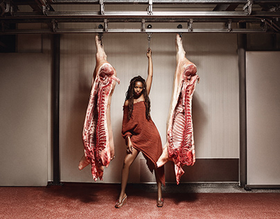 Woman is not a piece of meat!