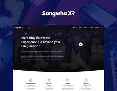 SANGHWA XR WEBSITE