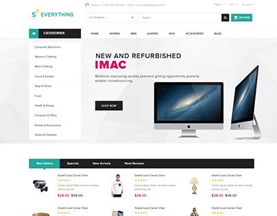 Shopify theme & Magento theme for Electronic #3