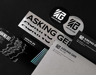 Asking Gee 問紀|Branding