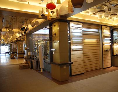A lighting Showroom